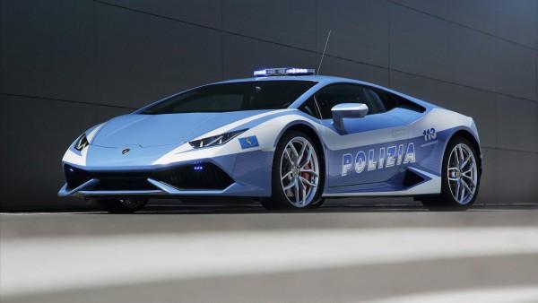 Lamborghini Huracan LP610-4 Polizia