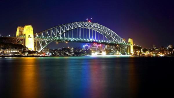 гавань, Сидней, мост, Австралия, заставки