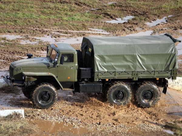 1993 Урал 4320 10 6x6 Для бездорожья Грузовик Военная техника
