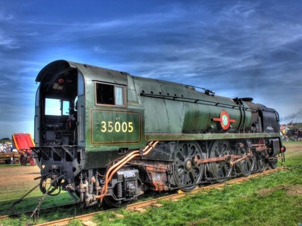 Локомотив, железная дорога, паровоз