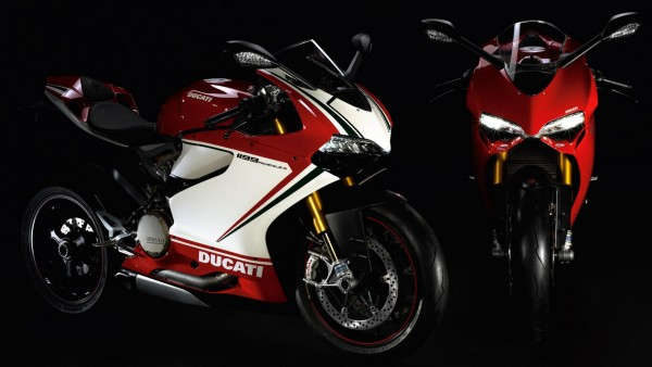 Ducati Superbike 1199 Panigale итальянские мотоциклы