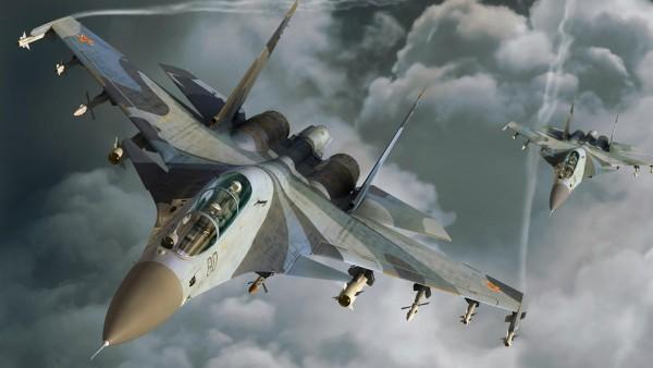 Воздушный бой военных истребителей hd бесплатно