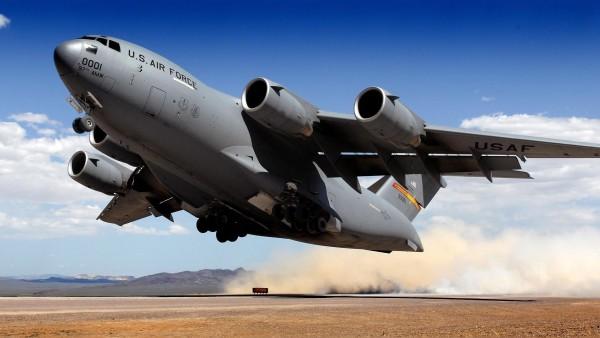 wallpaper Airforce C-17 Globemaster