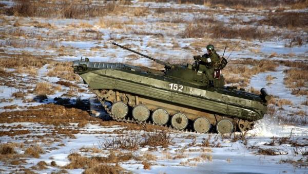 БМП-2, военные, танки, автомобиль, пехота