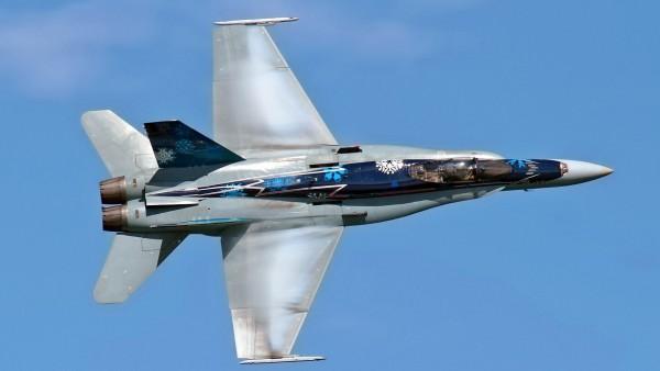 Канадские истребители CF-18 Hornet