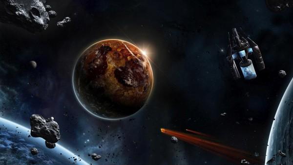 метеор, падающая звезда, атмосферное явление, космос