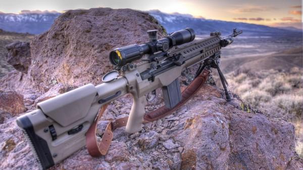 M1A винтовка картинки для стола