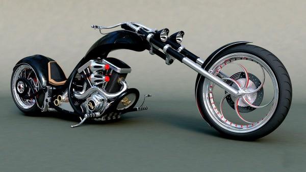 Chopper Bike Тюнинг мотоцикл Hot Rod уникальные обои для рабочего стола