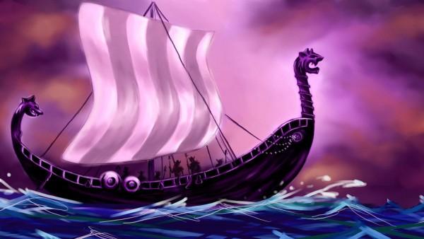 корабль викингов картинки бесплатно