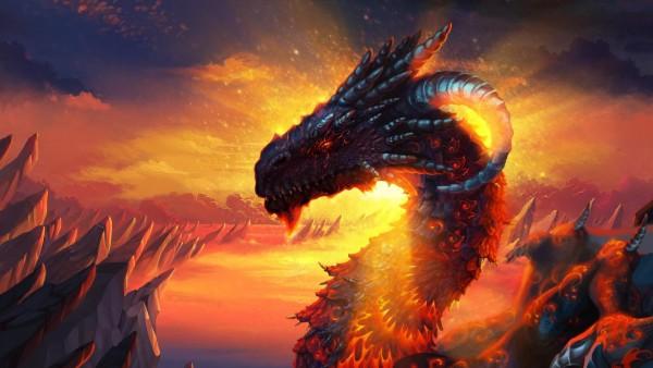 драконы рога фэнтези картинки на рабочий стол
