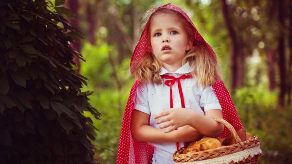 Маленькая девочка красная шапочка картинки на рабочий стол
