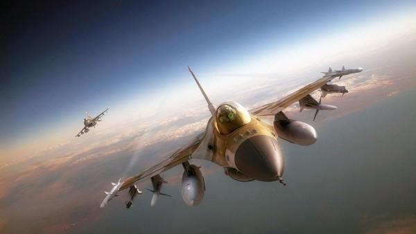 Ф-16 Тандем, F-16 Tandem истребитель обои на рабочий стол