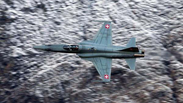 Нортроп F-5 истребитель обои на рабочий стол
