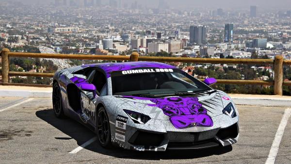Gumball 3000 Lamborghini бесплатно заставки