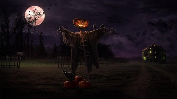 halloween night desktop wallpaper downloads