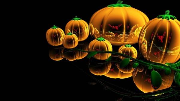 праздники Хэллоуин тыква рабочего стола