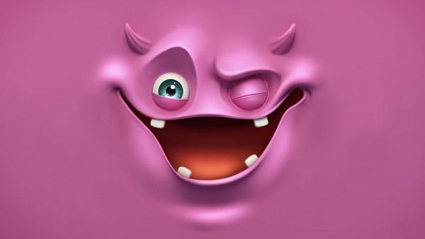 фиолетовый призрак