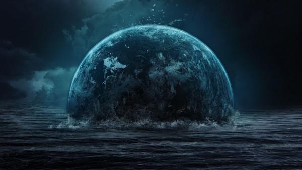 тонет планета