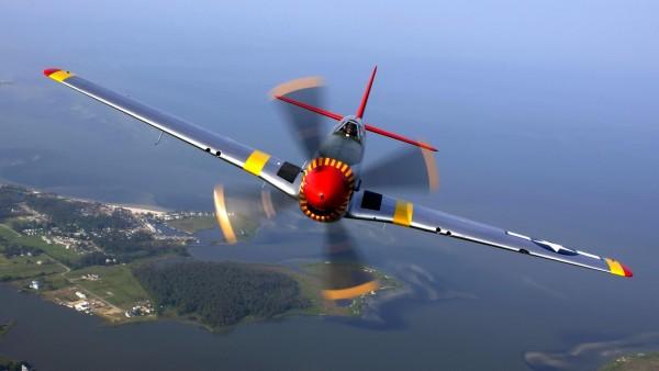 P-51 Mustang Flight