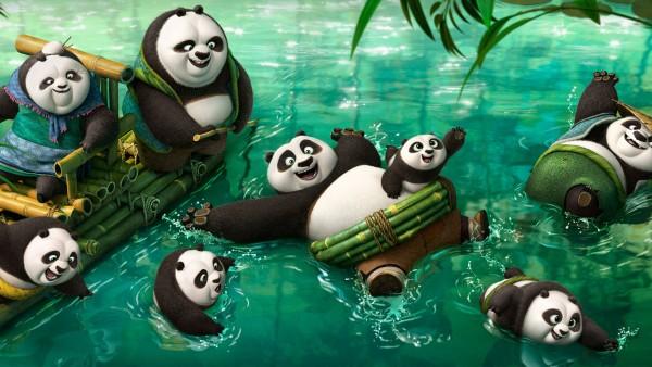 кунг-фу панда 3 новые панды HD скачать обои