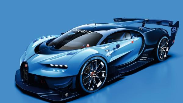 Bugatti Vision Gran Turismo супер автомобиль обои скачать