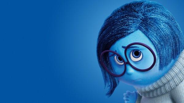 Inside Out, sadness, Disney, Pixar, Головоломка, Печаль