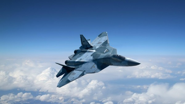 HD Сухой 50 истребитель, самолет, самолет-невидимка Т-50 ПАК, обои