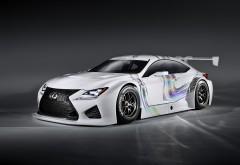 Lexus RC F GT3 Concept крутой спортивный автомобиль