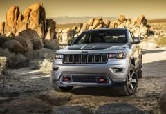 Новый Jeep Grand Cherokee Trailhawk обои hd бесплатно