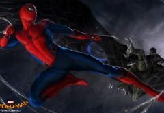 Человек-паук возвращение домой фильм обои концепт
