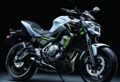 4k, 3840x2160, 2017, Kawasaki, Z650, мотоцикл, КавасаÐ�…