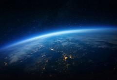 Вид из космоса на планету Земля обои hd