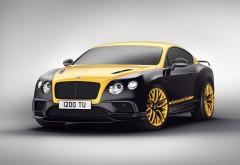 купе Bentley Continental GT 2018 обои 4K