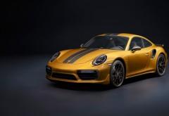 Porsche 911 Turbo S Exclusive Series (2017) обои 4K