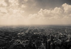 Chicago panoramic cityscape wallpapers high resolution hd
