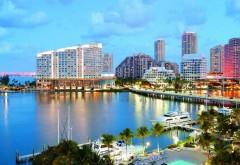 HD обои, город Майами, Флорида, пляж, океан, море