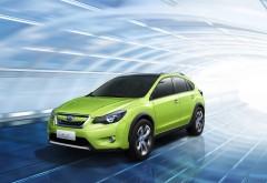 Subaru салатовый автомобиль обои hd бесплатно