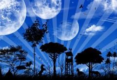 Планета, мир, воображения, фантазия, фоны, заставки