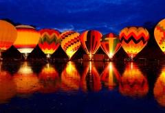 Balluminaria, шоу, воздушный шар, свечение, фестиваль, обои, заставки
