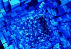 Туннель из кубов