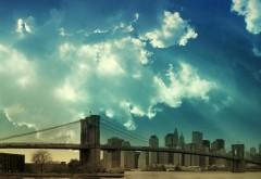 Городские пейзажи здания в Нью-Йорке