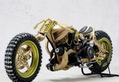 Чоппер мотоцикл с шипованной резиной тюнинг