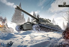 world of tanks, is-7, игра, взрыв, война, заставки