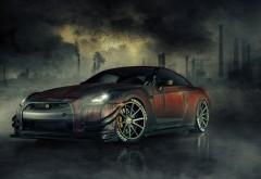 Nissan GTR R35 зомби-убийцы заставки