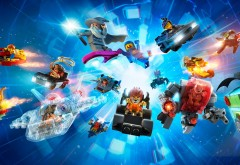 LEGO Dimensions, LEGO-игра, аркада, игра, фоны
