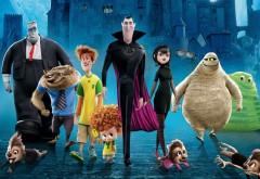 Анимационные герои Монстры на каникулах 2 обои на стол