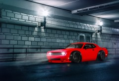2015 Dodge Challenger SRT HD обои на стол