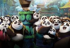 кунг фу панда, бой, мультфильм, 2016, картинки