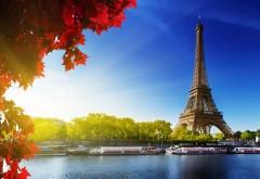 Эйфелева башня, Париж, Франция, город, фоны