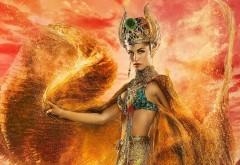 Хатхор, Богиня Любви, Боги Египта, HD, обои